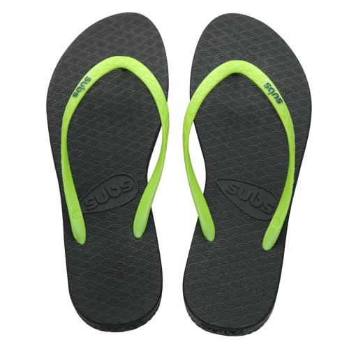 subs 環保拖鞋 橄欖綠