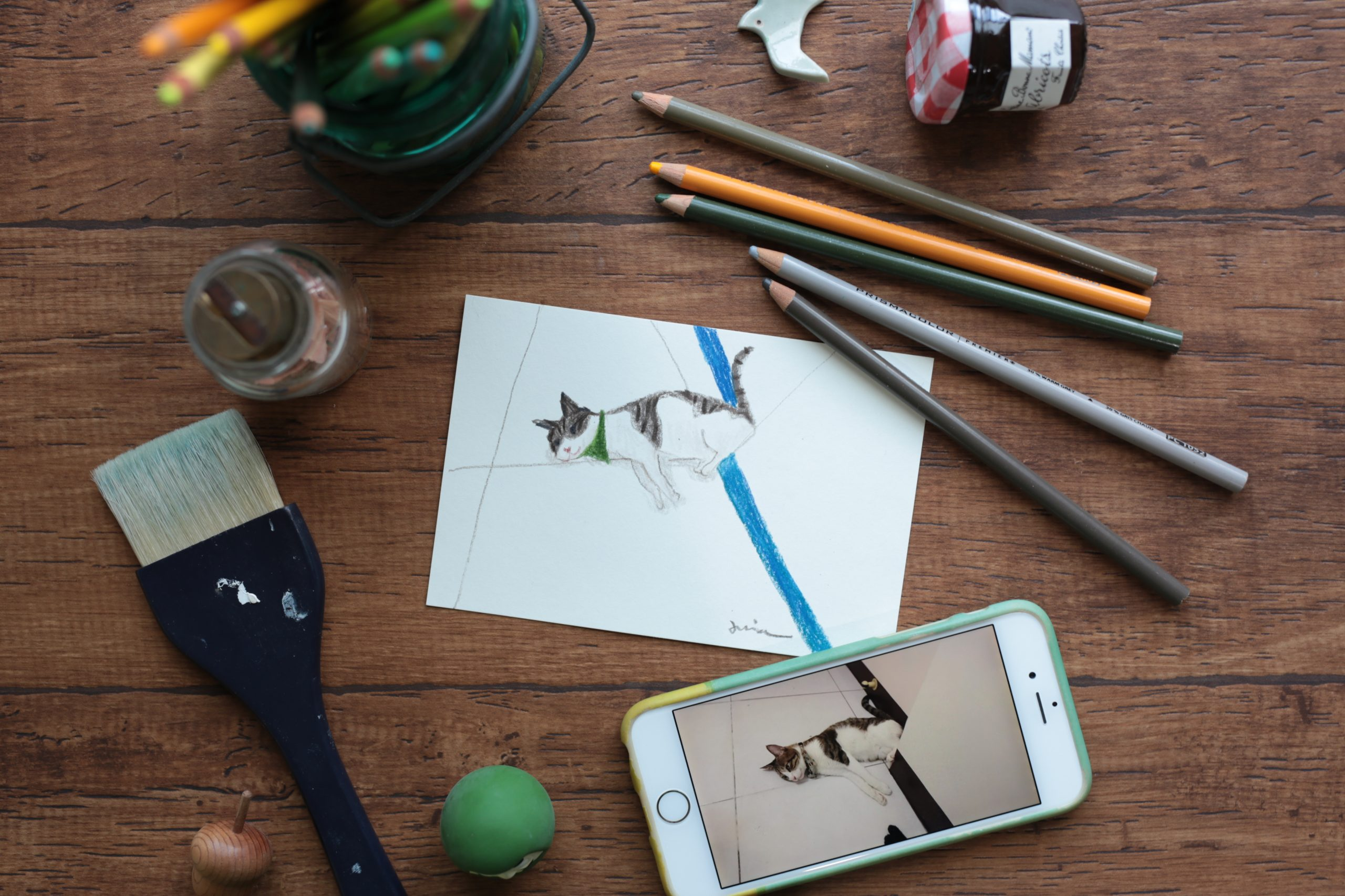 主題專訪 x 綠色控插畫家-Mia